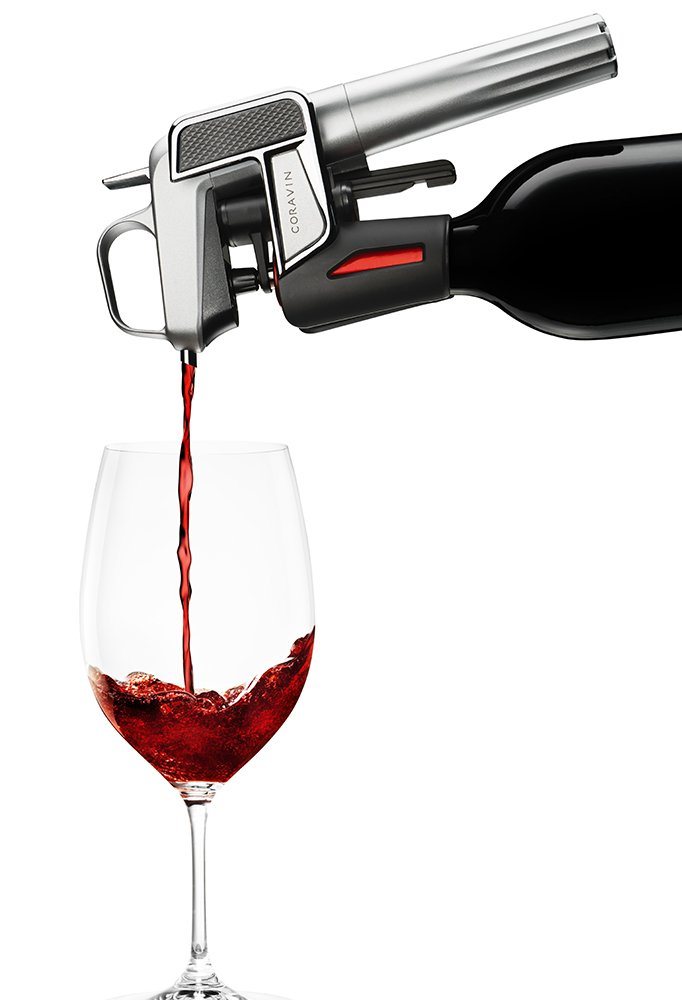 Coravin Model Two Elite Wine Pouring System, Silver by Coravin (Image #4)