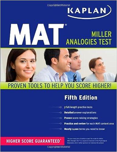 Kaplan MAT (Kaplan Test Prep): Kaplan: 9781607146841: Amazon.com ...