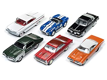 Muscle Cars USA 2018 Release 1 Set B of 6 Cars 1/64 Model Cars