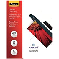 FELLOWES 5245301 ImageLast(TM) Laminating Pouches, Letter, 200pk (5Mil)