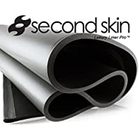 Second Skin Luxury Liner Pro MLV Mass Loaded Vinyl Closed Cell Foam Sound Deadener - (2) 9 Square Foot Single Sheet (18 Sqft Total)