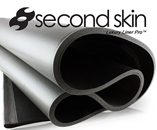 Second Skin Audio Luxury Liner Pro  Closed Cell Foam Sound Insulation for Cars (9 Sq Ft, 3/8 thick)  As Seen on West Coast Customs  Made in the USA