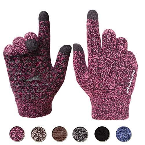 Achiou Winter Knit Gloves...