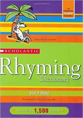 Scholastic Rhyming Dictionary: Sue Young: 9780439796422: Amazon.com ...