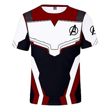 Ae Superhero Quantum 3D Camiseta Cosplay con Pantalones Estampados ...