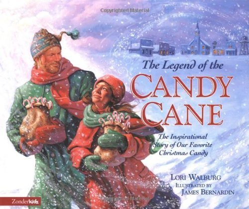 The Legend of the Candy Cane by Walburg, Lori (1997) Hardcover -