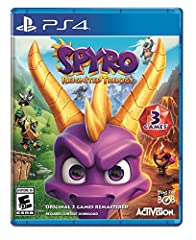 The original roast master is back! Same sick burns, same smoldering attitude, now all scaled up in stunning HD. Spyro is bringing the heat like never before in the Spyro Reignited Trilogy game collection. Rekindle the fire with the original t...