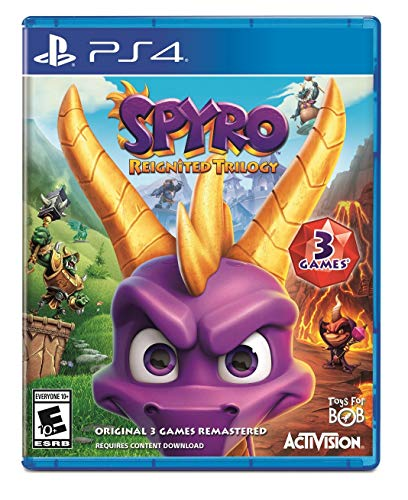 Spyro Reignited Trilogy - PlayStation 4 (Ratchet And Clank Ps4 Pre Order Code)