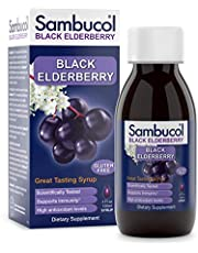 Sambucol Black Elderberry Original Formula, High Antioxidant Black Elderberry Extract Syrup for Immune Support