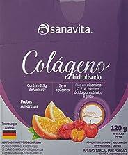 Colágeno Verisol Hidrolisado - 30 Sticke de 4G Frutas Amarelas - Sanavita, Sanavita, 30 Sticke de 4G