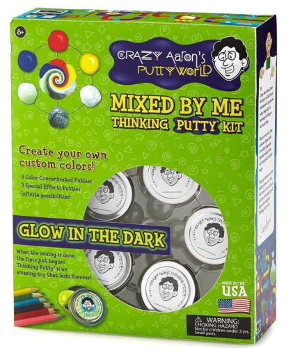 Crazy Aaron's MIXED BY ME - GLOW Kit Thinking Putty Kit CREATE YOUR OWN DIY mix by Crazy Aaron's Thinking PUTTY (Image #3)