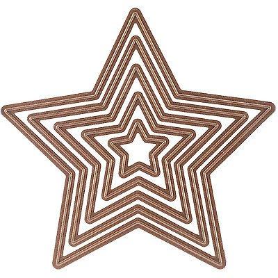 Spellbinders Nestabilities Dies ~ Stars