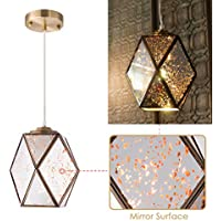 YIFI Pendant Light Mirror Reflection Decorative...