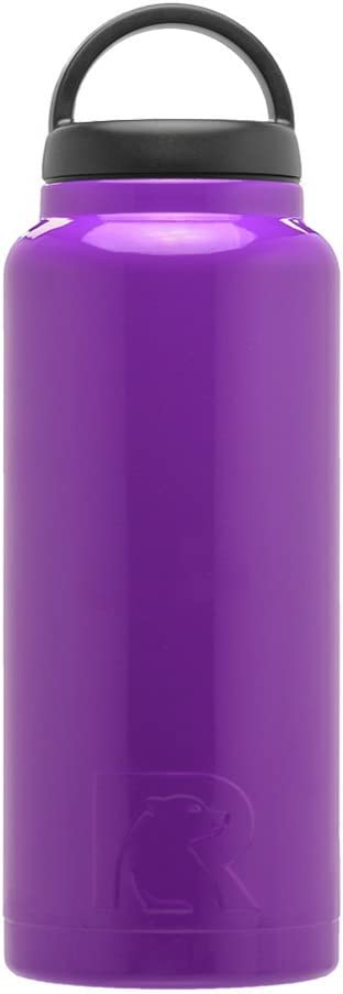 RTIC 217 Double Wall Vacuum Insulated Bottle, 36 oz, Purple