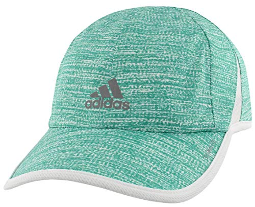 adidas Womens Superlite Pro Cap, Subdued Shock Mint/White, ONE SIZE
