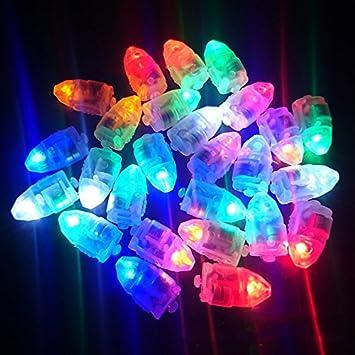 Dsstyles 10 20 30 50 Led Leuchtmittel Bunt Blinkend Leuchtende