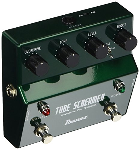 Ibanez TS808DX Tube Screamer Booster/Overdrive Pedal (Booster Tube)