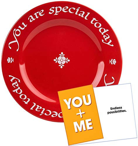 Waechtersbach You Are Special Today Red Plate - Premium Ceramic Dinner Plate ()