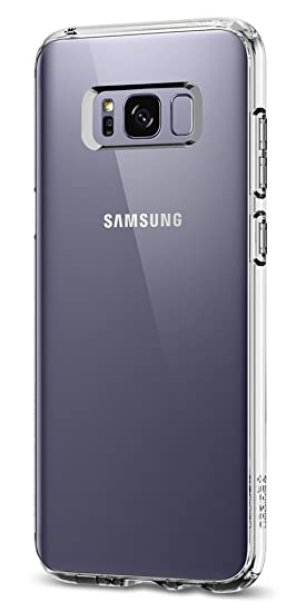 newest d2d58 003d3 Spigen Ultra Hybrid Designed for Samsung Galaxy S8 Case (2017) - Crystal  Clear