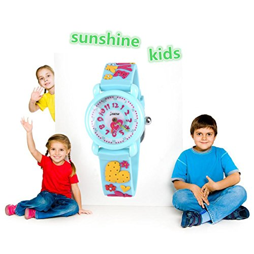 Gift for 3-10 Year Old Girls, Kids Watch for Kids Toy for 3-10 Year Old Girl Gift for Girl Age 3-10 Wristwatch Present for Birthday Little Girl Children by Kids Gift (Image #1)