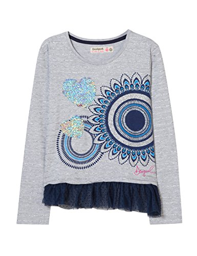 T Vigore 2042 shirt T Claro Desigual Ts gris Fille dolichothele aqwWT0E