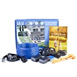Invisible Fence Underground Dog Containment System By GoodBoy Wireless Electric Perimeter Fence With 2 Shock Collars For Medium To Large Dogs And Pets