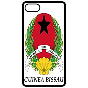 Guinea Bissau - Coat Of Arms Flag Emblem Black Apple Iphone 6 (4.7 Inch) Cell Phone Case - Cover