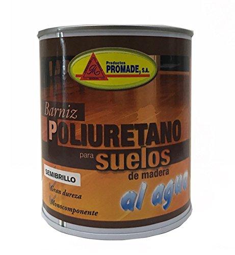 PROMADE - Barniz de poliuretano al agua para suelos de madera 750 ml