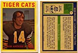 1972 OPC Bob Krouse Card #1 Hamilton Tiger Cats McMaster University