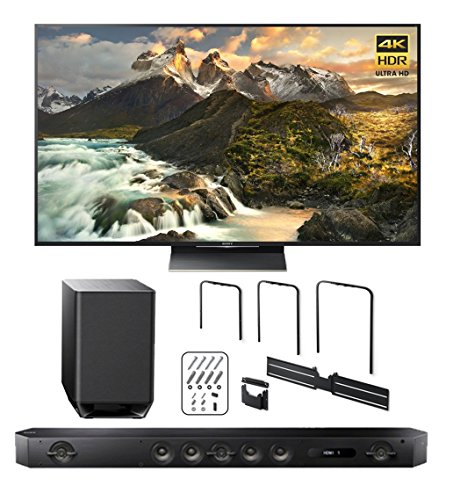 Sony-Z9D-65-4K-HDR-Ultra-High-Definition-Android-TV-w-HT-ST9-Sound-Bar-TV-Wall-Mount