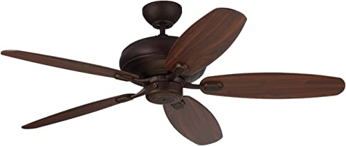 Monte Carlo 5CQM52RB Centro Max Dual Mount Energy Star 52″ Ceiling Fan