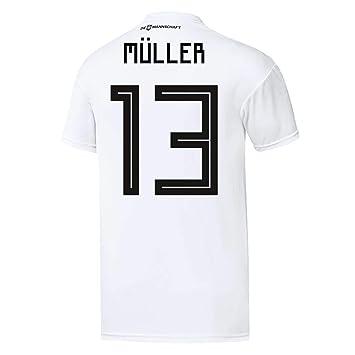 adidas Herren DFB Home Trikot 2018 Müller M