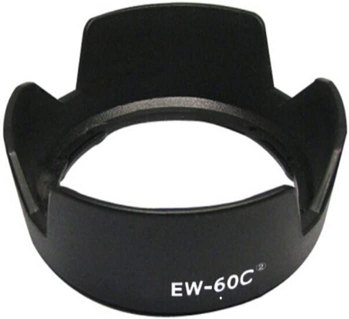 LXH Black Replaces EW-73D Reversible Camera Flower Bayonet Lens Hood Shade Compatible with Canon EF-S 18-135mm f//3.5-5.6 is USM Lens