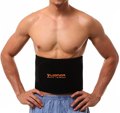 Liomor Waist Trimmer Belt Weight Loss Belt Slimming Belt Tummy AB Belt...