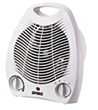 Optimus H-1321 Portable 2 Speed Fan Heater with Thermostat