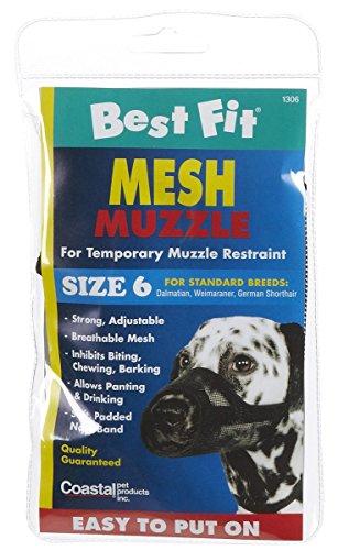 Coastal Pet Products DCP13006 Nylon Fabric Dog Muzzle, Size ()