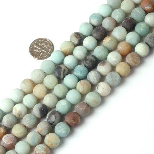 Natural Amazonite Round Beads - 3