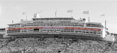 USC Trojans Event-Used Cardinal National Champions Banner - Size 200