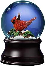 The San Francisco Music Box Company Holiday Cardinal Snow Globe