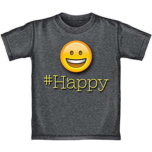 Happy Face Emoji Adult Tee Shirt (Adult Medium) - Happy Face T-shirt