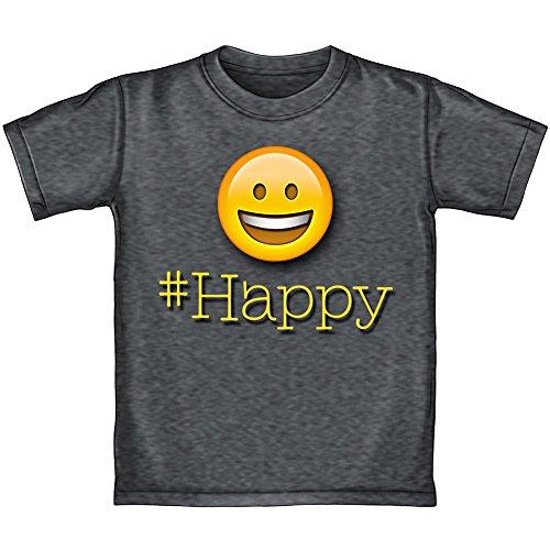 50d4d9872fcb1 Dawhud Direct Happy Face Emoji Adult Tee Shirt (Adult Large)