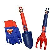 MidWest Quality Gloves SFSP16P03-EA-AZ-6 DC Comics Super Friends Super Man Combo Pack, Toddler, Multicolor