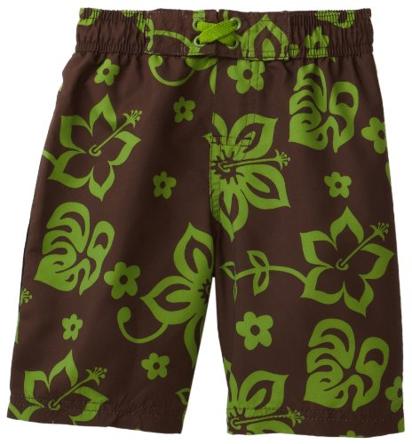 Ixtreme Baby Boys' Large Hibiscus Printed Board Short