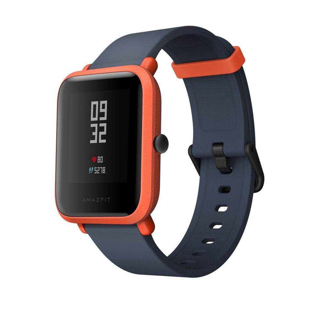 Smart Watch, Amazfit bip Youth Edition GLONASS GPS frequenza cardiaca sport fitness tracker orologio schermo 3,3 cm 32 G ultra-leggero IP68 impermeabile 45DAY standby, donna, Amazfit Bip, Orange product image