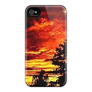 For Iphone 4/4s Fashion Design Sunset Case-PbNNHpQ4211lEHBy