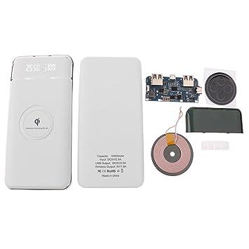 D DOLITY Cargador de batería externo con 2 USB para iPhone ...