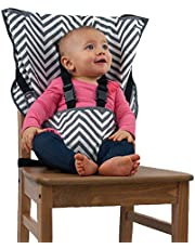 Cozy Cover Easy Seat Portable High Chair (Chevron) Quick, Easy, Convenient Cloth Travel High Chair Fits in Your Hand Bag So That You Can Have It With You Everywhere For a Happier, Safer Infant/Toddler