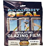 Insulating Film for Windows, Transparent Glazing Film 9.0m2 (6m x 1.5m) by Exitex