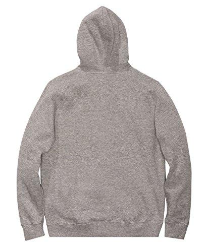 Undefeated Mens 5 Strike Hoody Pullover Sweatshirt Medium Grey Heather