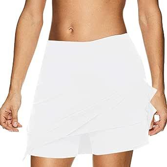 AOGOTO Falda Deportiva para Mujer Activa, Rendimiento de Tenis de ...